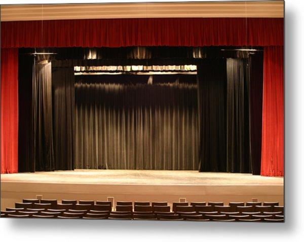 Stage Curtain 2 Metal Print by Jondpatton