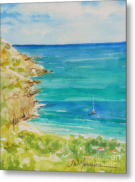 St.barts--the French Island Metal Print