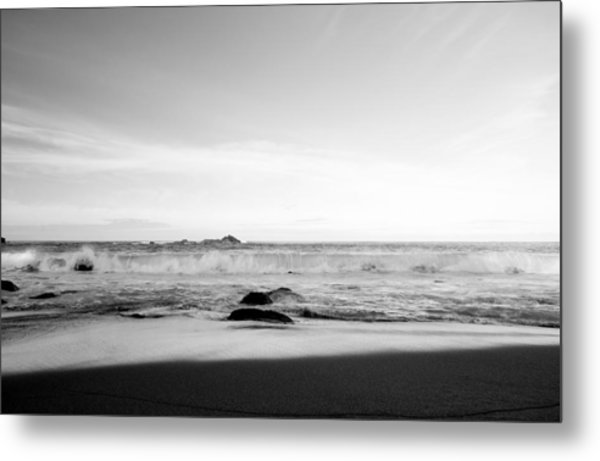 Sunlight On Beach Metal Print