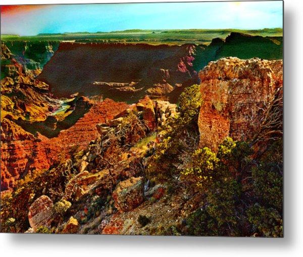 Sunrise Lipan Point Grand Canyon Metal Print