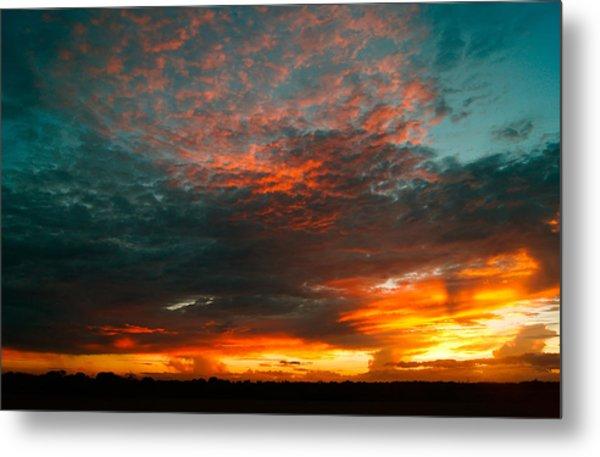 Texas Sunset Metal Print