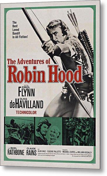 The Adventures Of Robin Hood B Metal Print