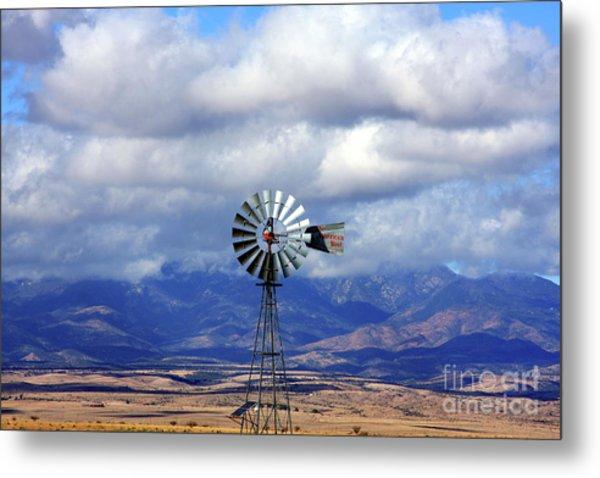 The Great Western Windmill Metal Print