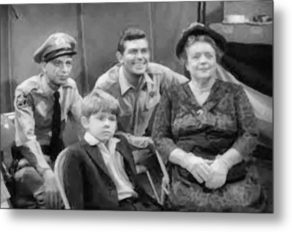 The Griffith Household Metal Print