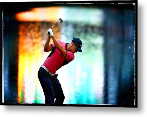 The Players Championship - Alternative Views Metal Print by Richard Heathcote