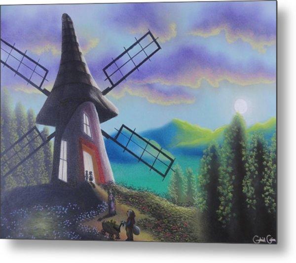 The Windmill  Metal Print