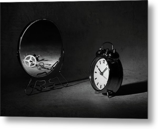 Time Is Just A ... Metal Print