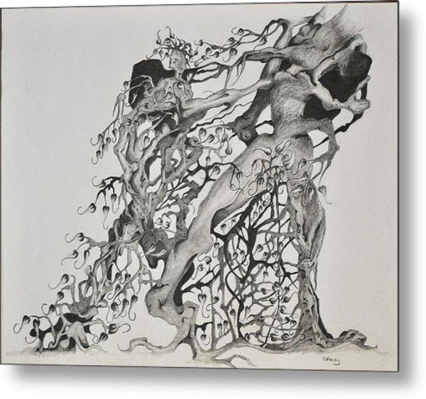 Tree People Metal Print by Glenn Calloway