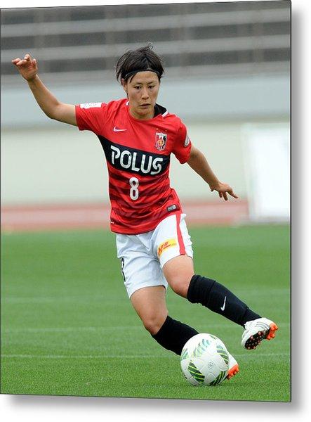 Urawa Red Diamonds Ladies V Ac Nagano Parceiro Ladies - Nadeshiko League Metal Print by Hiroki Watanabe