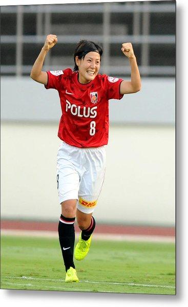 Urawa Red Diamonds Ladies V Inac Kobe Leonessa - Nadeshiko League Metal Print by Hiroki Watanabe
