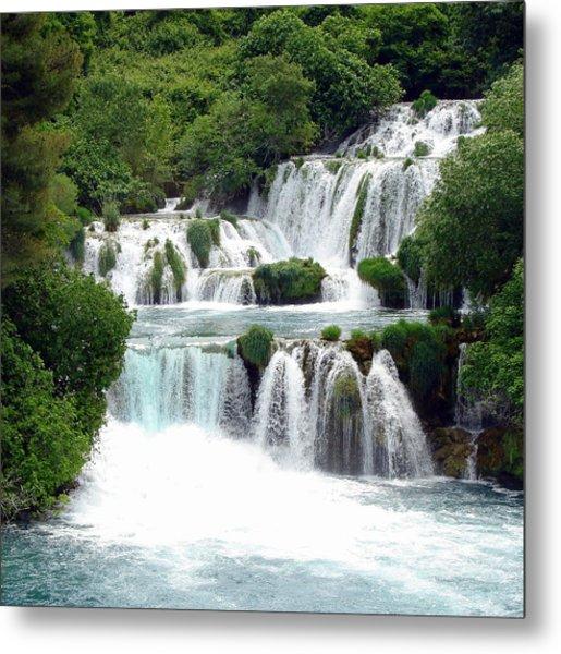 Waterfalls Of Plitvice Metal Print