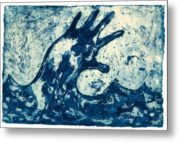 Wave Metal Print by Tim Southall