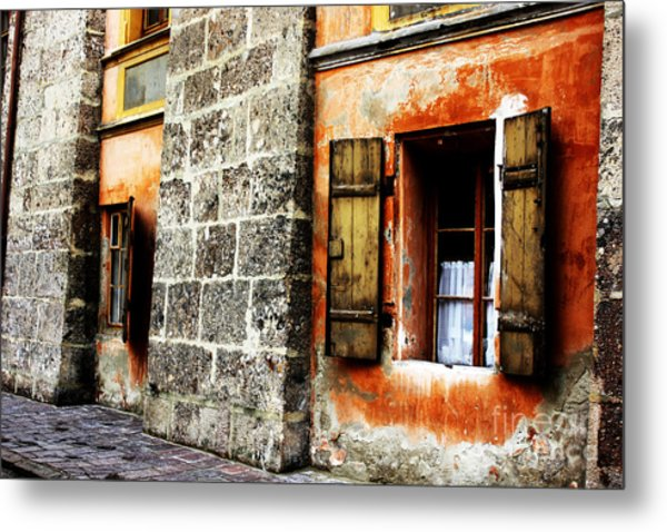 Windows Into The Past Metal Print