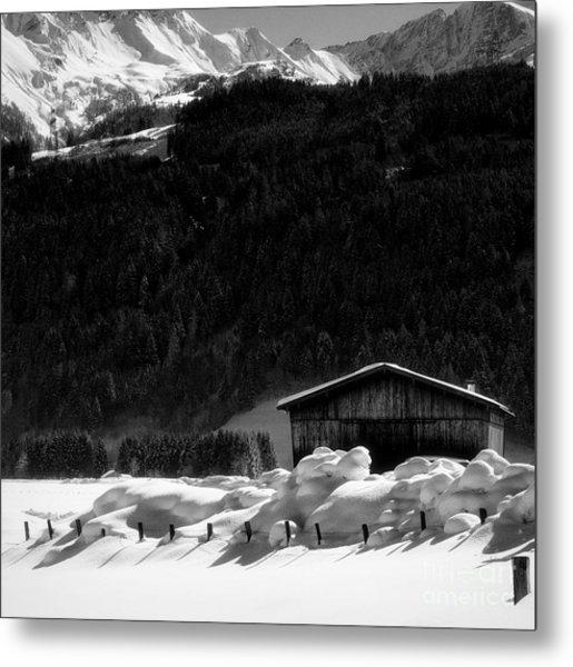 Wintertime Metal Print