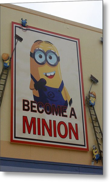 Year Of The Minions Metal Print