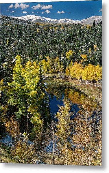 Fall Color On Bobcat Pass Metal Print