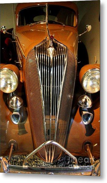 1936 Hudson 64 De Luxe 8 Sedan Metal Print by Wingsdomain Art and Photography