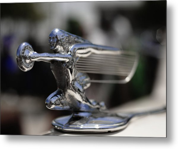 1940's Packard Hood Ornament Metal Print