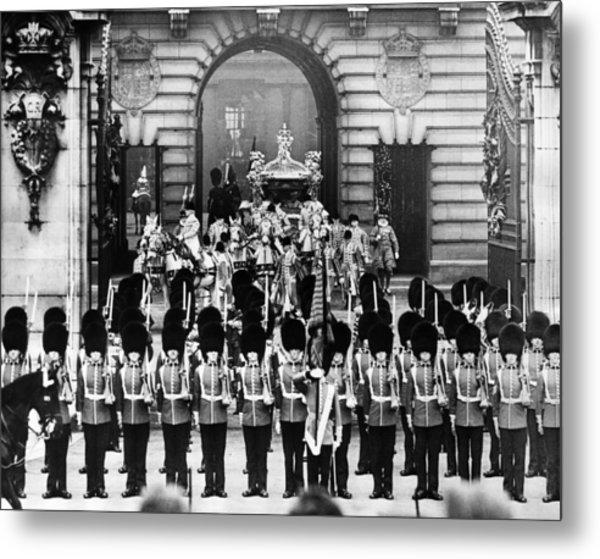 British Royalty. Coronation Procession Metal Print by Everett