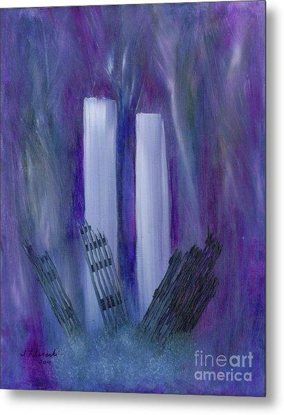 9-11 Remembering Metal Print