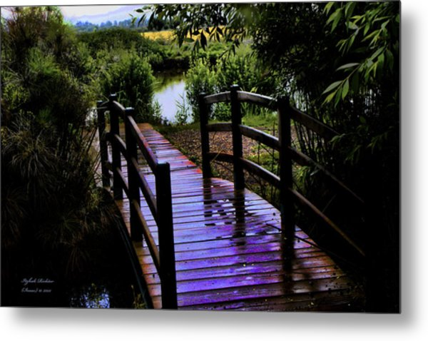 A Bridge Over Troubled Water Metal Print