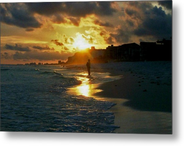 Anticipation At Sunset Metal Print