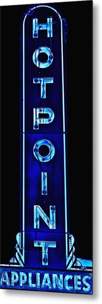 Appliance Sign Metal Print
