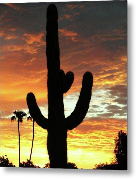 Arizona Sunrise 01 Metal Print