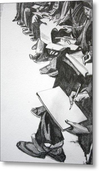 Art Class In Afghanistan Metal Print