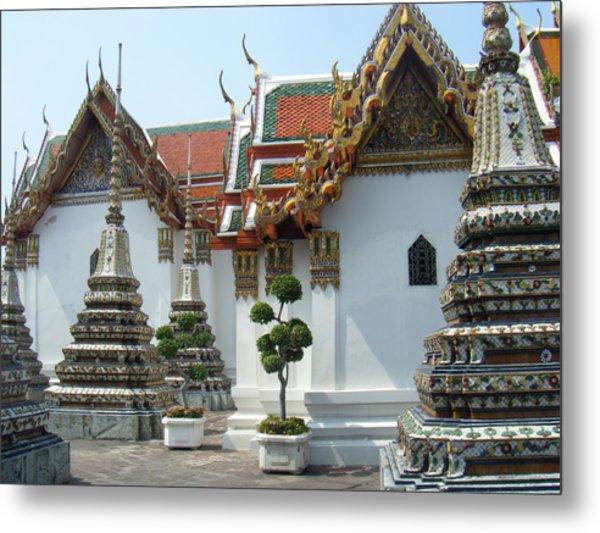 Bangkok Tample Metal Print