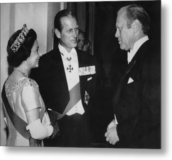 British Royalty. From Left  Queen Metal Print by Everett