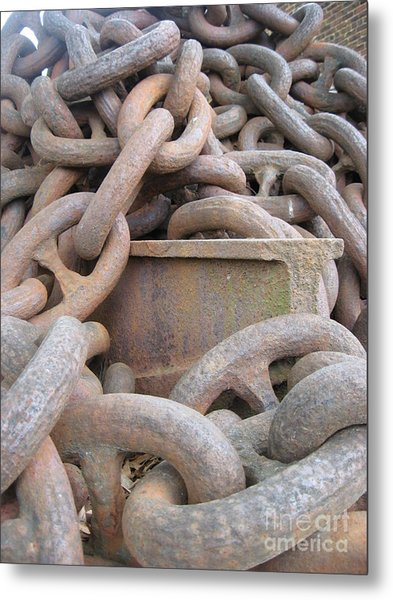 Chain Gang Metal Print