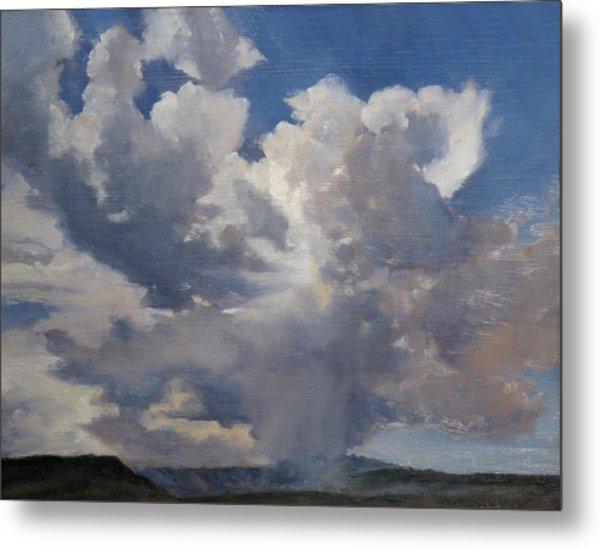 Cloudscape Metal Print by Victoria  Broyles