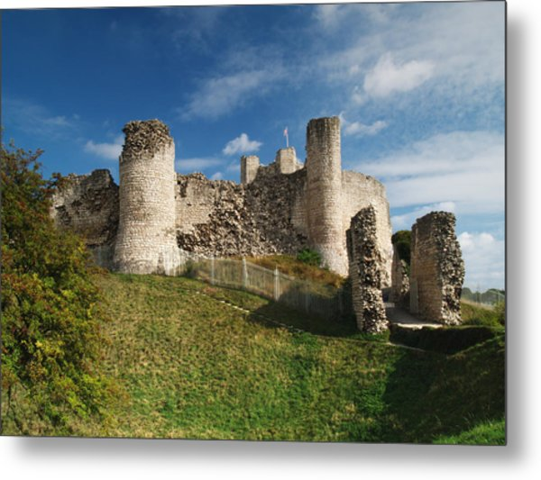 Conisborough Castle Metal Print