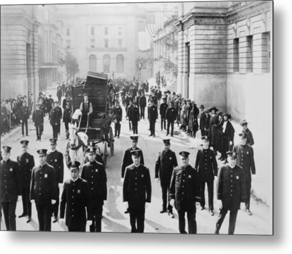 Cops, 1922 Metal Print by Granger