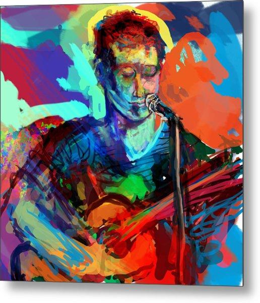 Dylan's Performance Metal Print by James Thomas