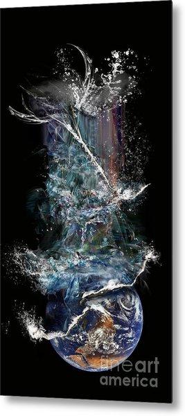Earth's Ascension Metal Print