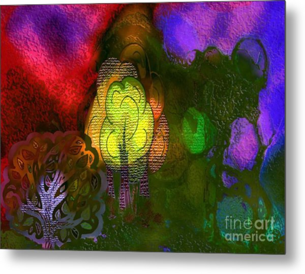 Enchanted Forest 3 Metal Print