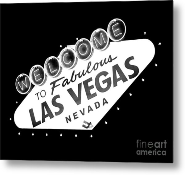 Fabulous Las Vegas Metal Print