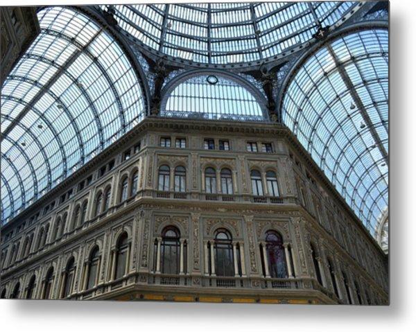 Galleria Umberto 1 Metal Print by Terence Davis