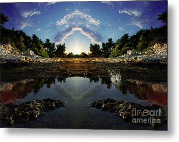 Gate To Paradise Metal Print