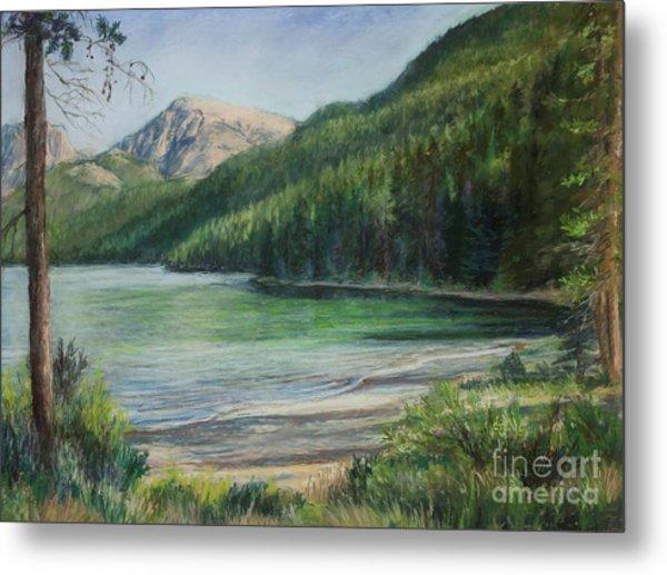 Green River Lake Metal Print