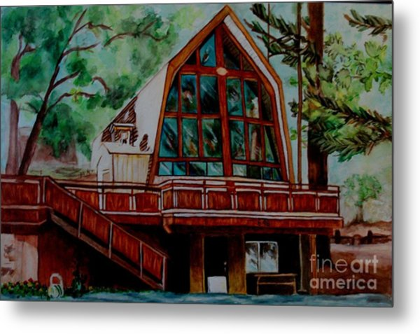 Green Valley Lake Church Metal Print