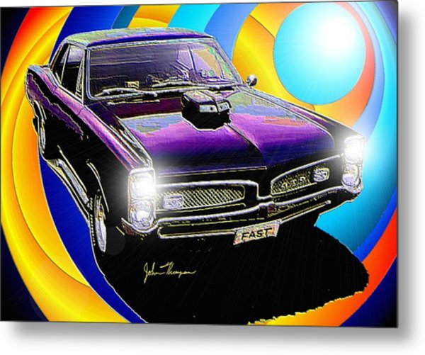 GTO Metal Print by John Thompson