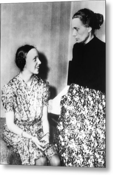 Gudrun Himmler, Daughter Of Heinrich Metal Print by Everett