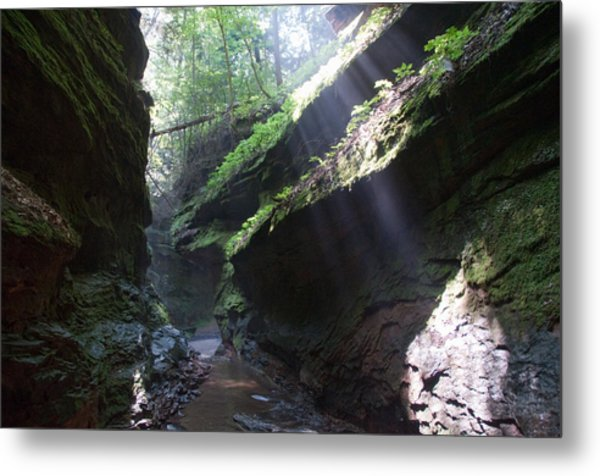 In The Cleft Of The Rock Metal Print