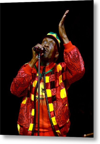 Jimmy Cliff Metal Print