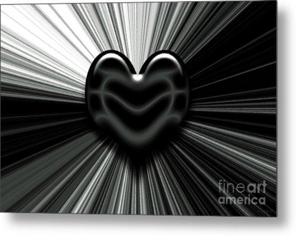 Let Love Shine Metal Print