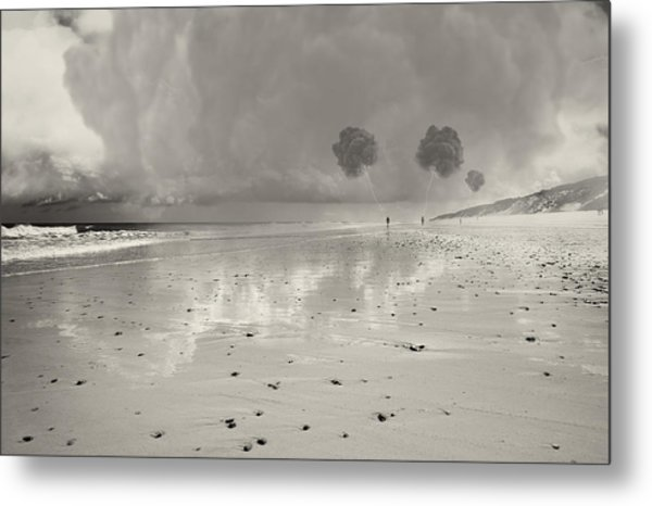 Little Fluffy Clouds Metal Print by Dapixara Art