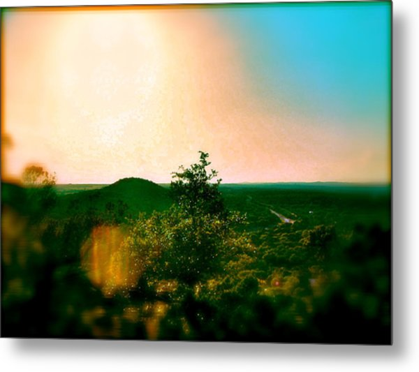 Mount Baldy Metal Print by Amber Hennessey
